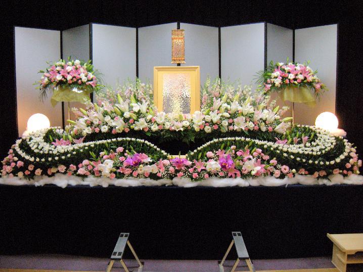 生花祭壇:施工例4
