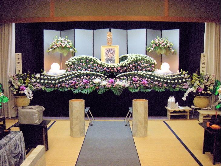 生花祭壇:施工例5