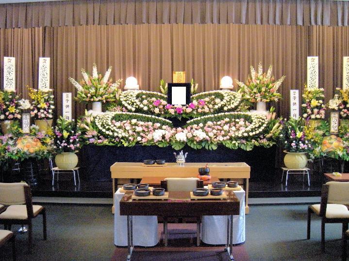 生花祭壇:施工例6