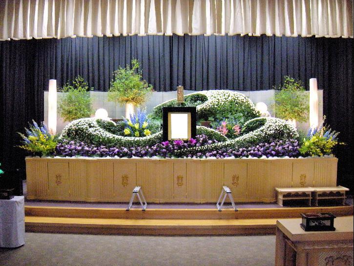 生花祭壇:施工例7