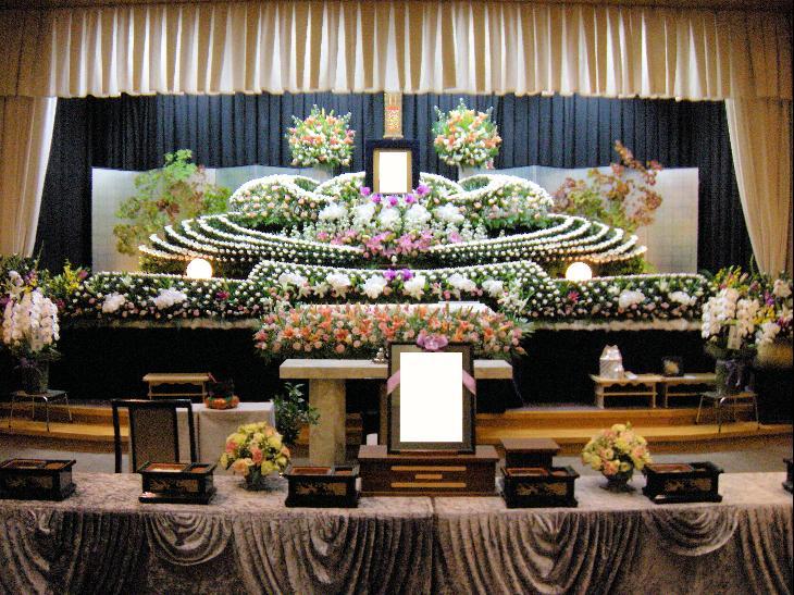 生花祭壇:施工例8