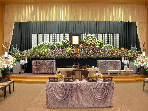 生花祭壇:施工例9