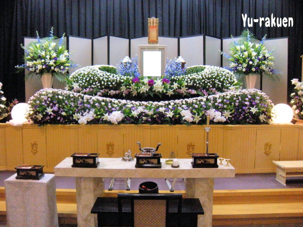 生花祭壇:施工例13