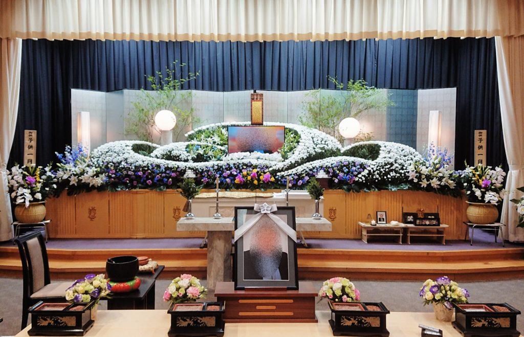 生花祭壇:施工例12