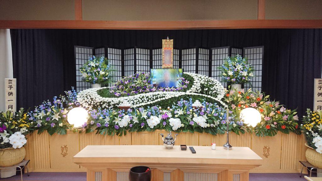 生花祭壇:施工例2