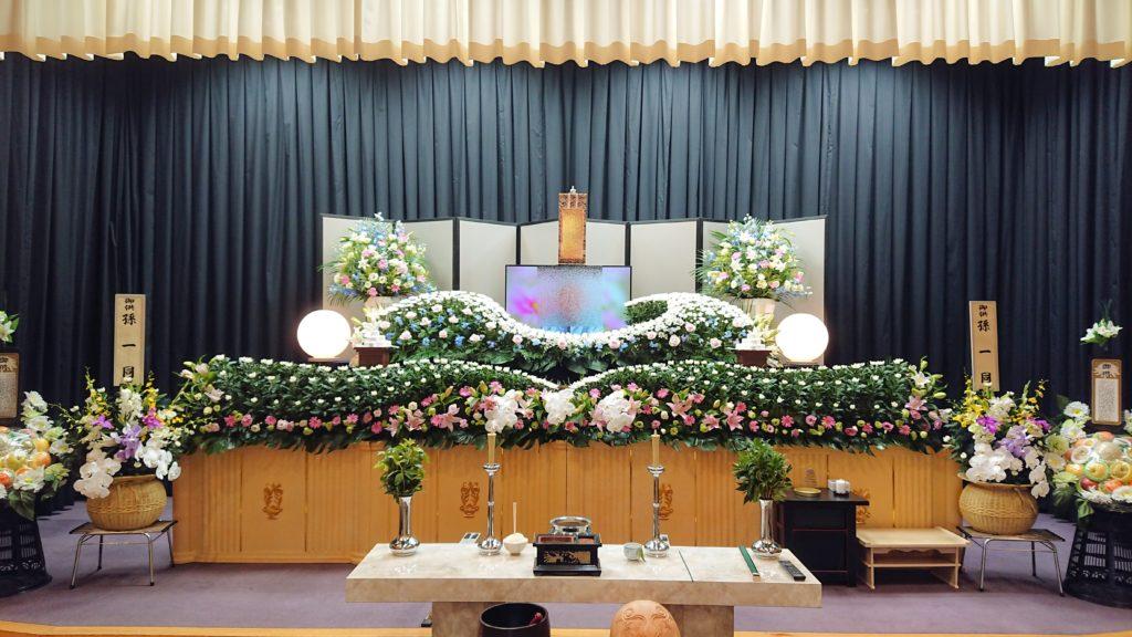 生花祭壇:施工例3