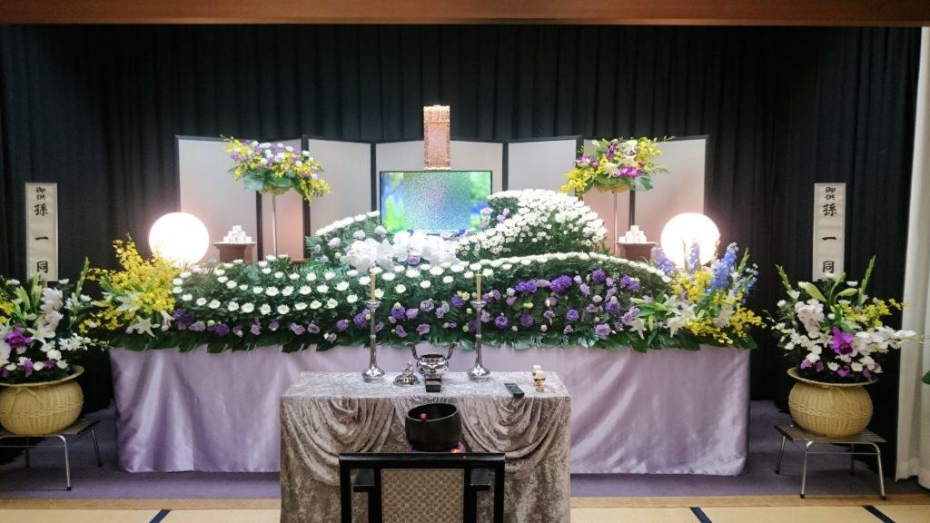 生花祭壇:施工例1