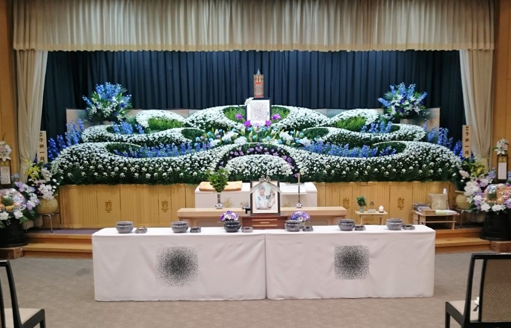 生花祭壇:施工例11